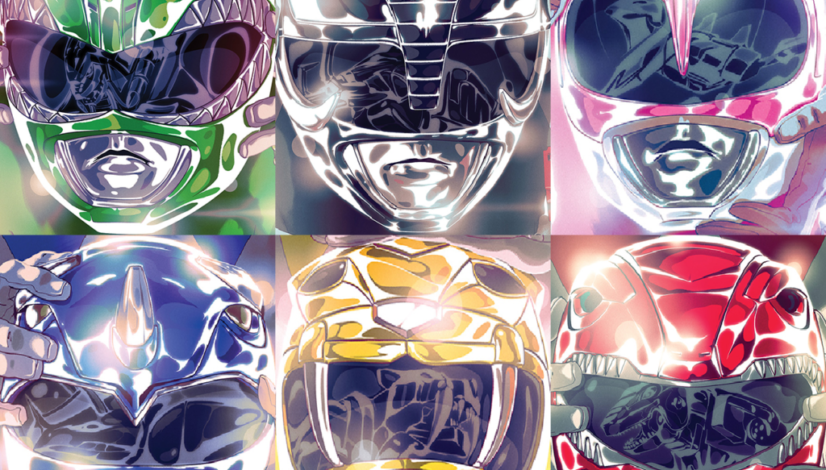 Power Rangers #0 Helmet covers
