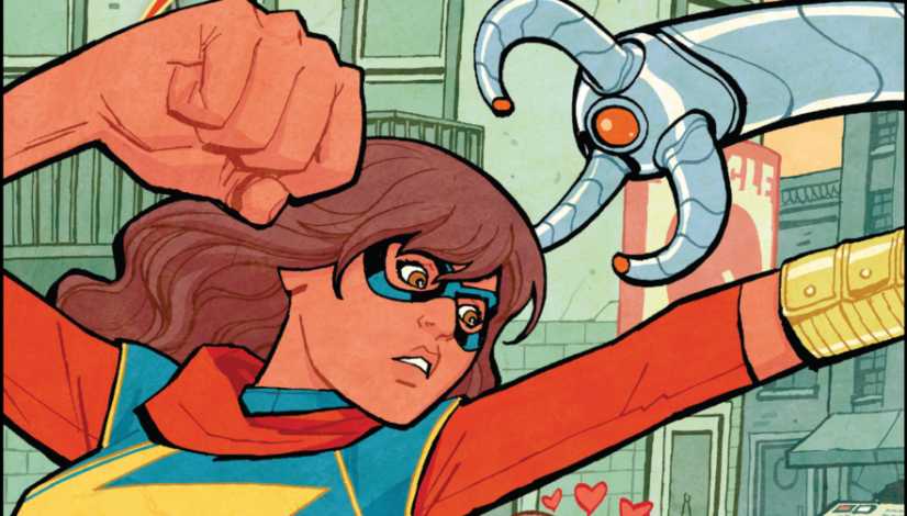 Ms Marvel 2015 Issue #2 Cover by Cliff Chiang