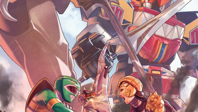 Power Rangers #2 Cover