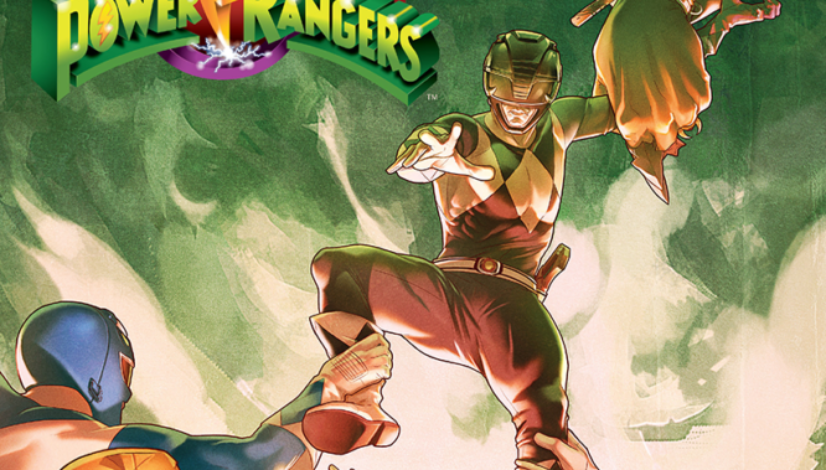 Power Rangers #5 cover