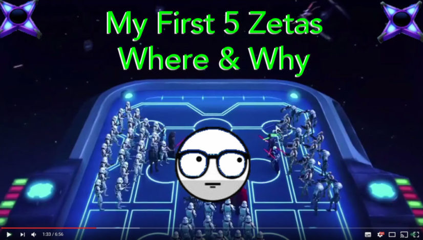 My first 5 zetas Abilities